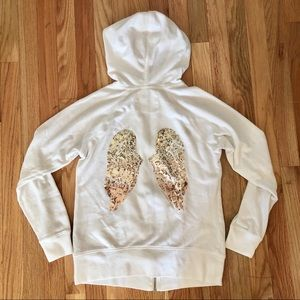 🌟 VS Gold Angel Wings Hoodie! 🌟